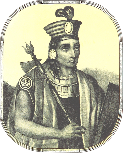 Recuerdos de la Monarquia Peruana - Pacha Cutic Inca (1850)