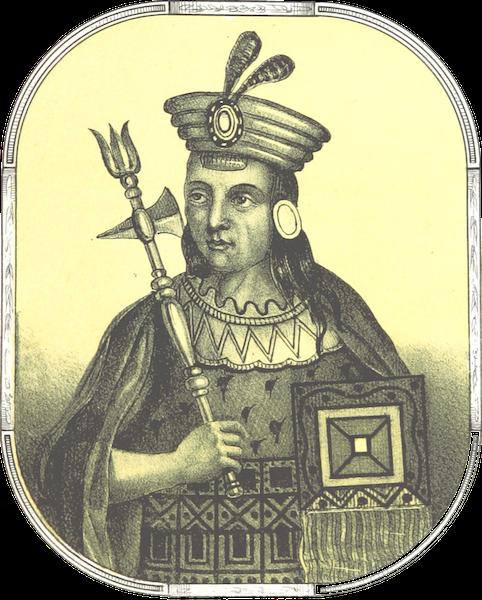 Recuerdos de la Monarquia Peruana - Inca Yupanqui (1850)