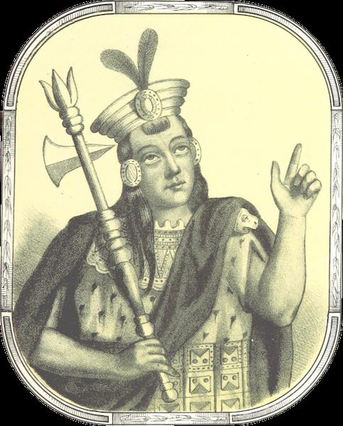 Recuerdos de la Monarquia Peruana - Huayna Ccapac (1850)