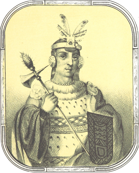Recuerdos de la Monarquia Peruana - Huascar Inca (1850)