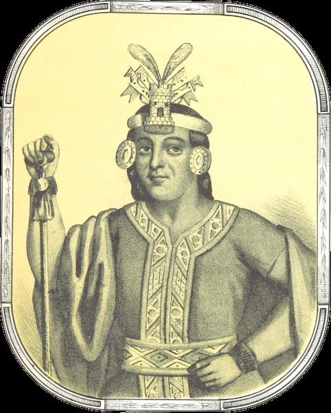 Recuerdos de la Monarquia Peruana - Sayri Ttupac (1850)