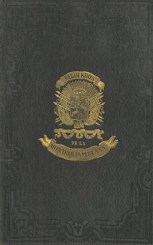 Recuerdos de la Monarquia Peruana (1850)