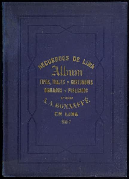 Recuerdos de Lima - Front Cover (1857)