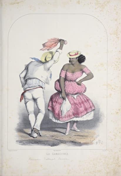Recuerdos de Lima - La Zamacueca (1857)