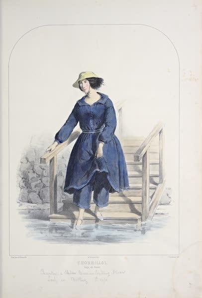 Recuerdos de Lima - Chorrillos, Traje de Bano (1857)