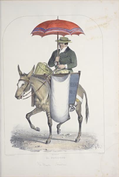Recuerdos de Lima - El Panadero (1857)