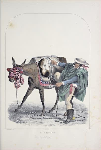 Recuerdos de Lima - El Arriero (1857)