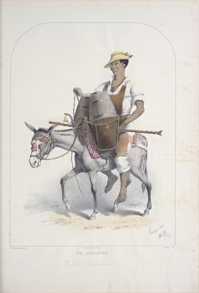 Recuerdos de Lima - El Aguador (1857)