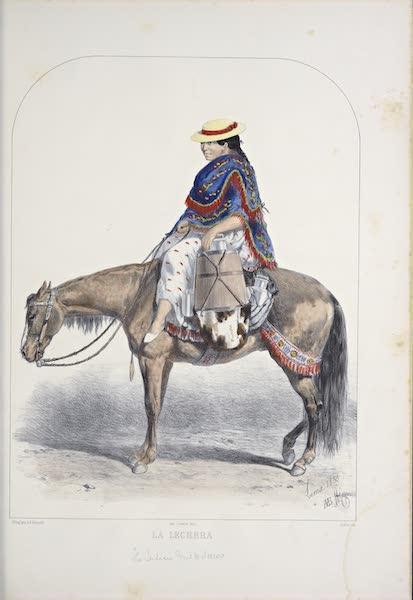 Recuerdos de Lima - La Lechera (1857)