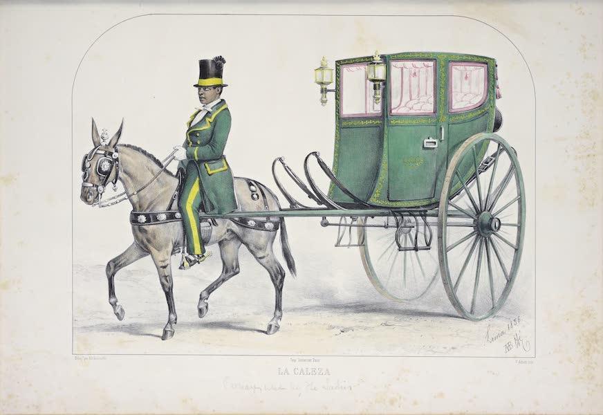 Recuerdos de Lima - La Caleza (1857)