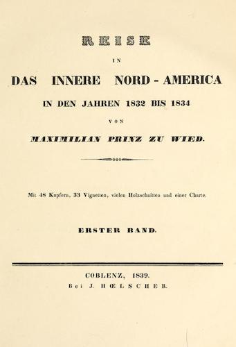 Biodiversity Heritage Library - Reise in das innere Nord-America Vol. 1