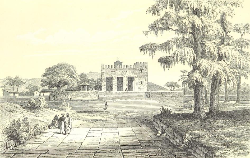 Reise nach Abessinien, den Gala-Landern - Kirche von Aksum (1868)