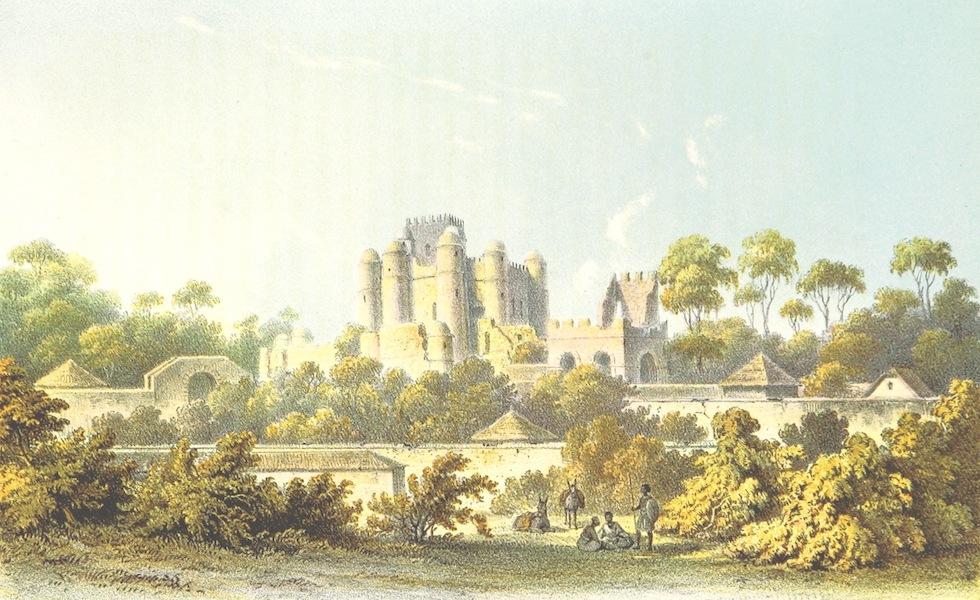 Reise nach Abessinien, den Gala-Landern - Der Gemp in Gondar [I] (1868)