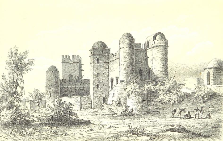 Reise nach Abessinien, den Gala-Landern - Der Gemp in Gondar [II] (1868)