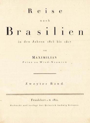 Reise nach Brasilien Vol. 2 (1820)