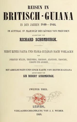 Natural History - Reisen in Britisch-Guiana Vol. 2