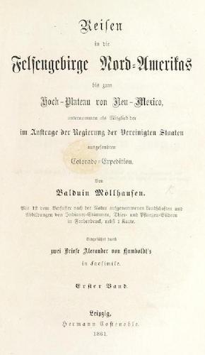 British Library - Reisen in die Felsengebirge Nord-Amerikas