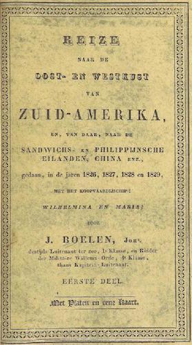 Reize naar de Oost- en Westkust van Zuid-Amerika Vol. 1