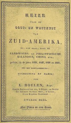 Reize naar de Oost- en Westkust van Zuid-Amerika Vol. 2