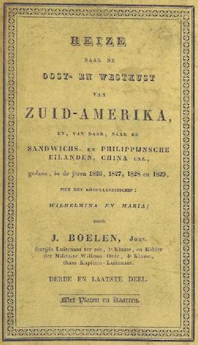 British Library - Reize naar de Oost- en Westkust van Zuid-Amerika Vol. 3