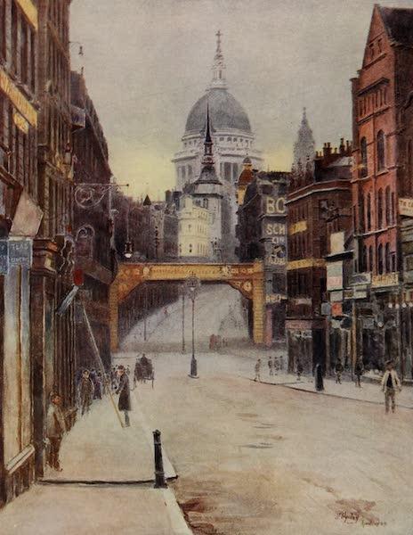 Relics & Memorials of London City - St. Paul's from Fleet Street (1910)