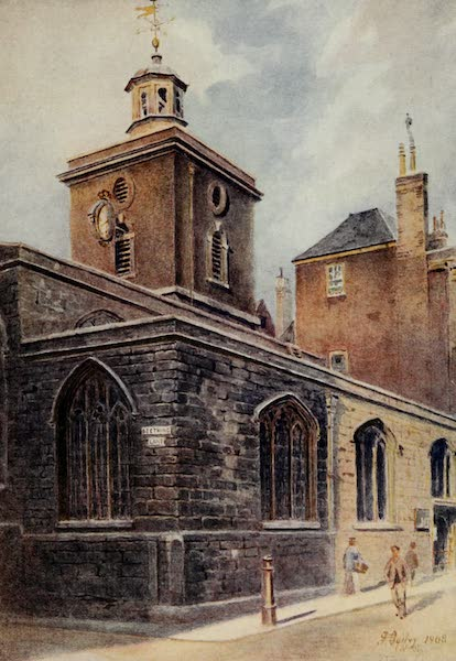 Relics & Memorials of London City - St. Olave's, Seething Lane (1910)