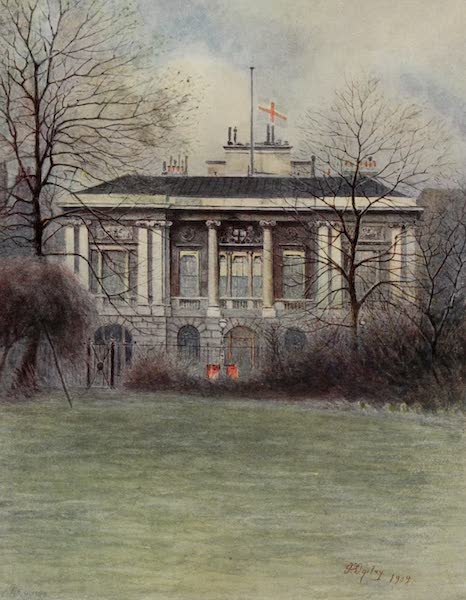 Relics & Memorials of London City - Trinity House, Tower Hill (1910)
