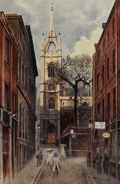 Relics & Memorials of London City - St. Dunstan's in the East (1910)