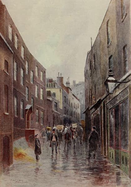 Relics & Memorials of London City - Love Lane, Billingsgate (1910)