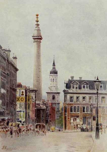 Relics & Memorials of London City - St. Magnus and the Monument (1910)