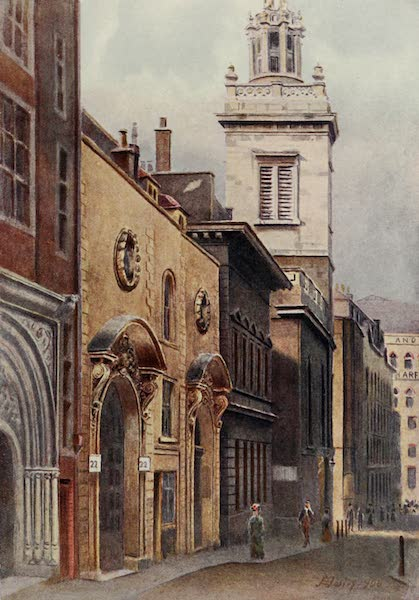 Relics & Memorials of London City - St. Michael Royal, College Hill (1910)