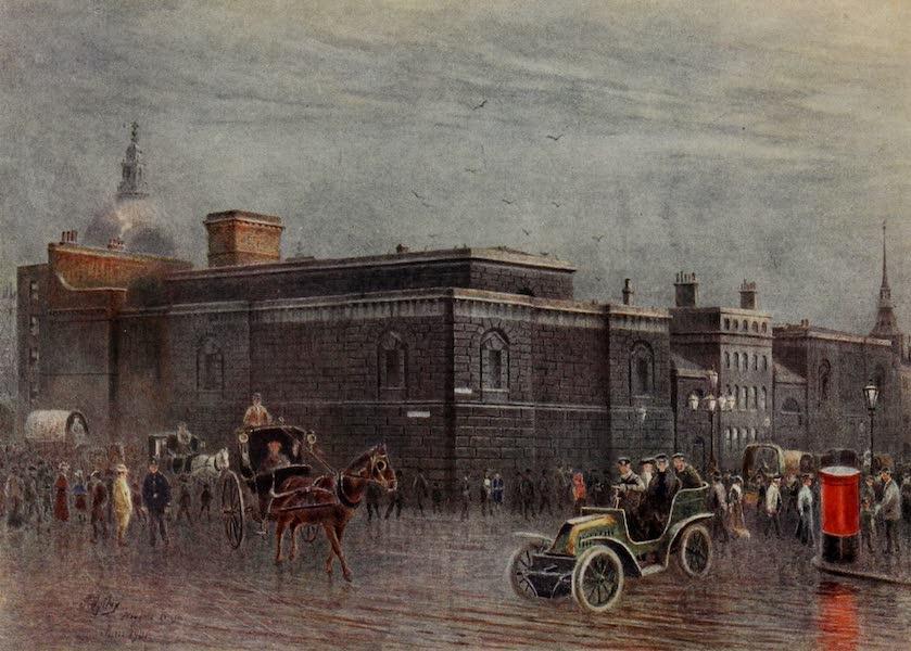 Relics & Memorials of London City - Newgate Prison (1910)