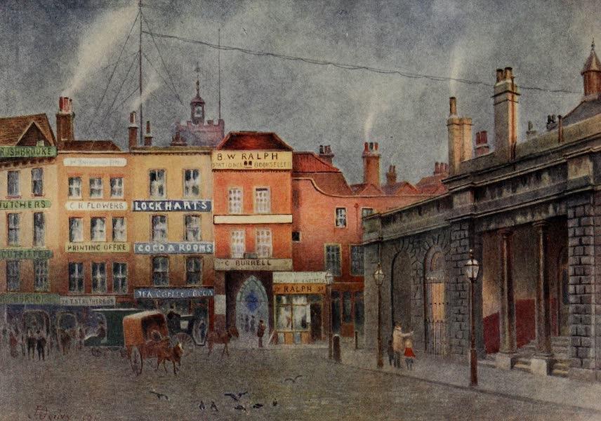 Relics & Memorials of London City - The Martyrs' Corner, Smithfield (1910)