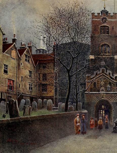 Relics & Memorials of London City - St. John's Gate, Clerkenwell (1910)