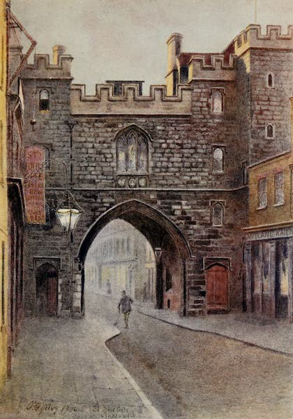 Relics & Memorials of London City - The Gateway of the Charterhouse (1910)