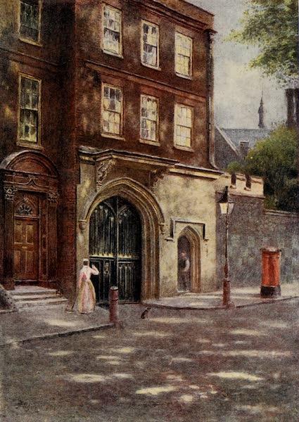 Relics & Memorials of London City - The Chapel Tower, Charterhouse (1910)