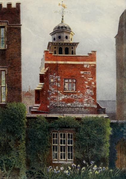 Relics & Memorials of London City - A Corner of Charterhouse Square (1910)