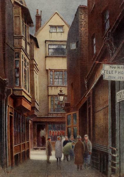 Relics & Memorials of London City - New Court, Cloth Fair (1910)