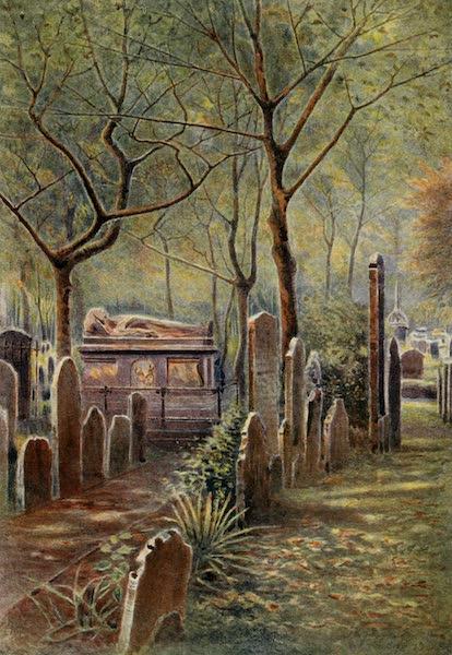 Relics & Memorials of London City - John Bunyan's Tomb, Bunhill Fields (1910)