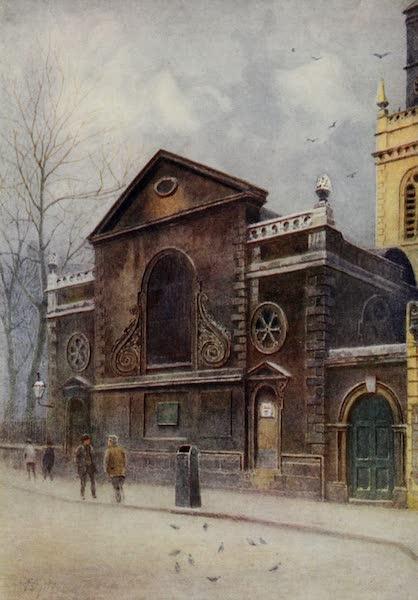 Relics & Memorials of London City - St. Mary the Virgin, Aldermanbury (1910)