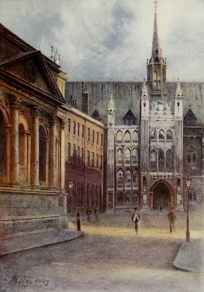 Relics & Memorials of London City - The Guildhall and St. Lawrence, Jewry (1910)