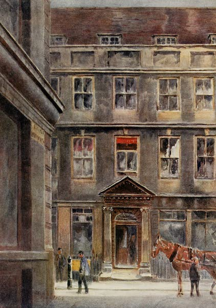 Relics & Memorials of London City - A Bygone Lord Mayor's House, Austin Friars (1910)