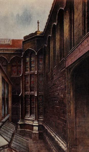 Relics & Memorials of London City - Crosby Hall (1910)