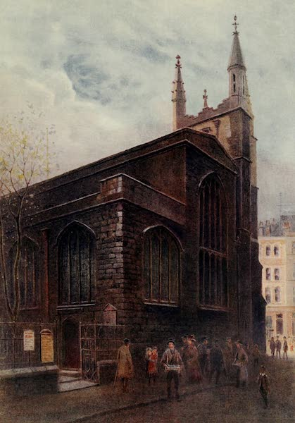 Relics & Memorials of London City - St. Andrew Undershaft, St. Mary Axe (1910)