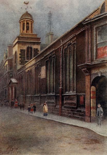 Relics & Memorials of London City - St. Catherine Cree, Leadenhall Street (1910)