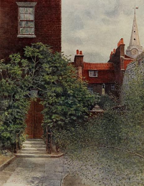 Relics & Memorials of London City - Aldgate Ward School and St. Botolph's (1910)