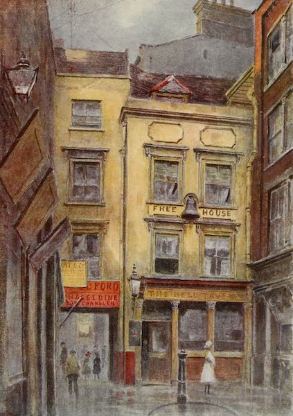 Relics & Memorials of London City - The &34;Bell&34; Tavern, Cornhill (1910)