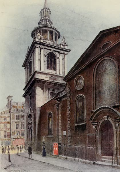 Relics & Memorials of London City - St. Mary-le-Bow, Cheapside (1910)