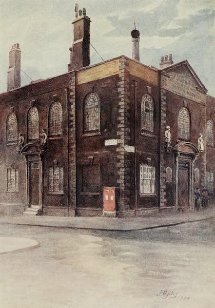 Relics & Memorials of London City - Seventeenth Century Parish School, Hatton GardenLincoln's Inn Gateway (1910)