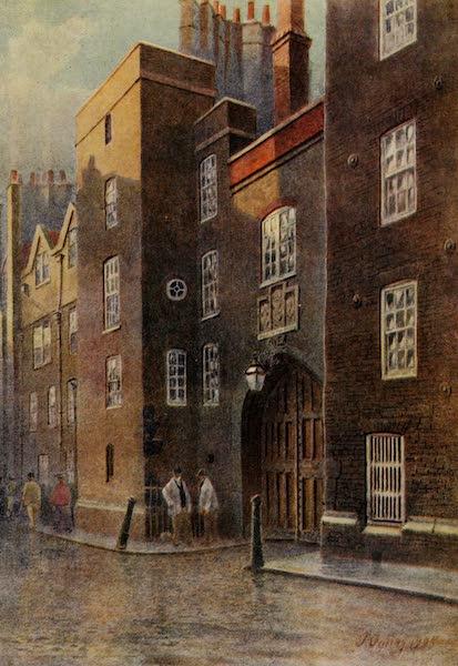 Relics & Memorials of London City - Staple Inn : The Garden (1910)